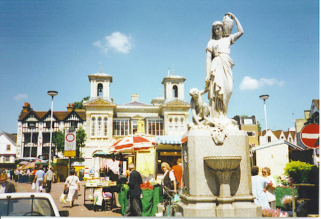 Kingston-upon-Thames, Market Place.
