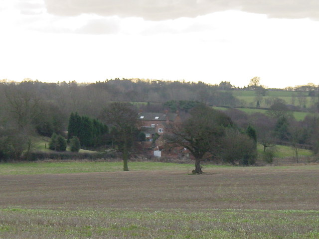 Farmhouse at the end of the field
