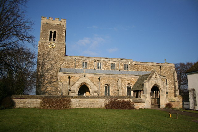 St.Laurence's church, Corringham, Lincs.