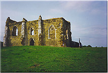 SU9948 : St Catherine's Chapel, Guildford. by Colin Smith