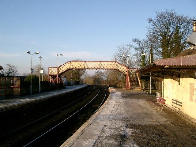Busby Railway Station