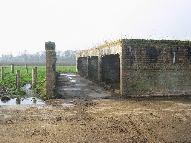 Surviving buildings from RAF Drem.