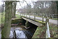 NY3446 : Bridge over Chalk Beck by Bob Jenkins