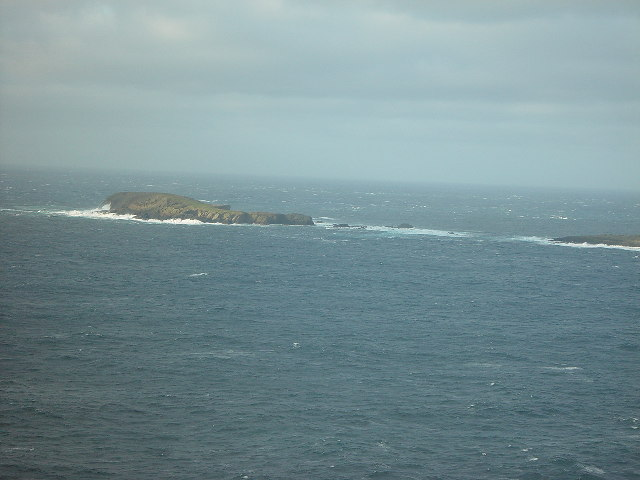 Horse Island, west of Sumburgh Head, Shetland