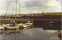 NJ6864 : Yachts in Banff Harbour. by Colin Smith