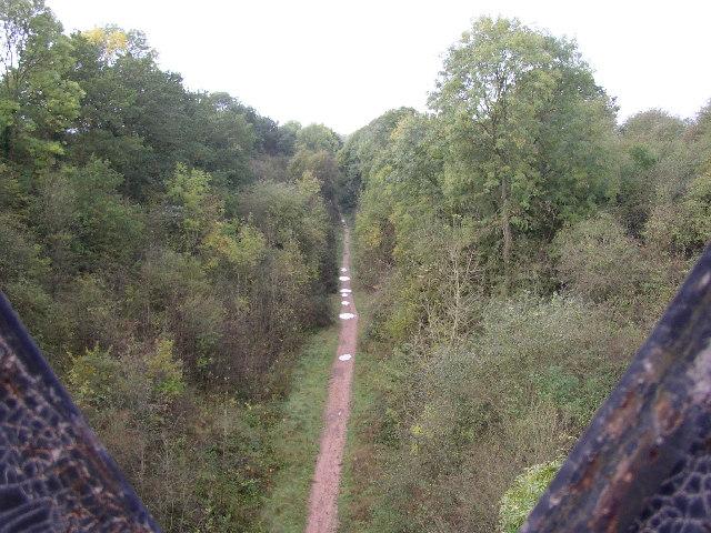 Disused Railway Line Nr Hunningham Hill