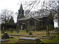SD7410 : Christ Church, Harwood by Margaret Clough
