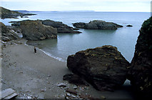 SX5646 : Row Cove, looking east by Crispin Purdye