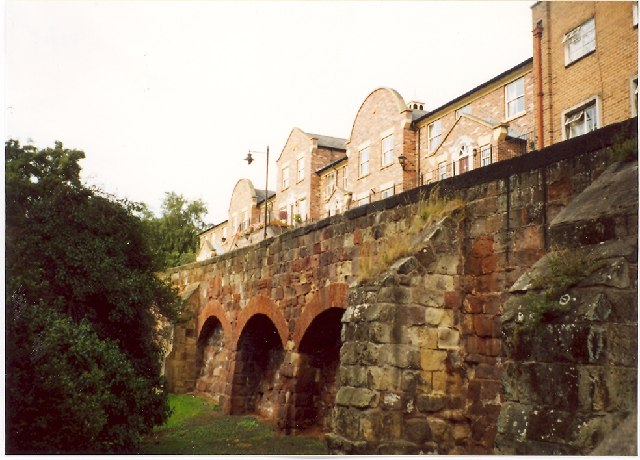 Town Walls, Shrewsbury