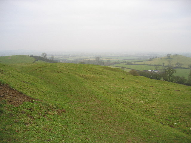 Quainton and Simber Hill with Grange Hill on right