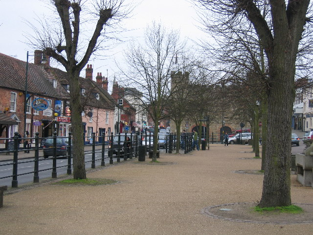 Buckingham, with the museum