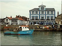 TM2532 : Pier Hotel, Harwich, Essex by Robert Edwards