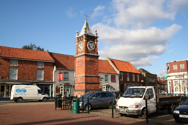 Marketplace Clock Tower