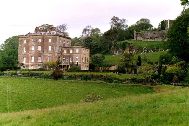 Penrice Castle, Gower, Sth. Wales