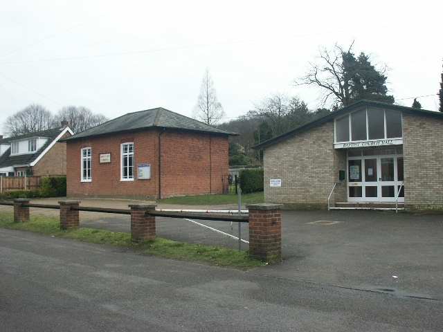 Baptist chapel and church hall, The Street, Costessey