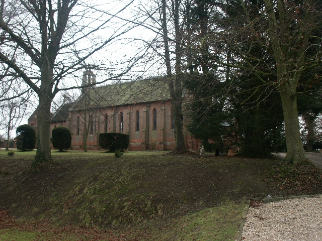 Catholic church of St Walstan, Costessey
