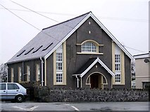 SH4970 : Converted chapel in Llanddaniel Fab by Nigel Williams