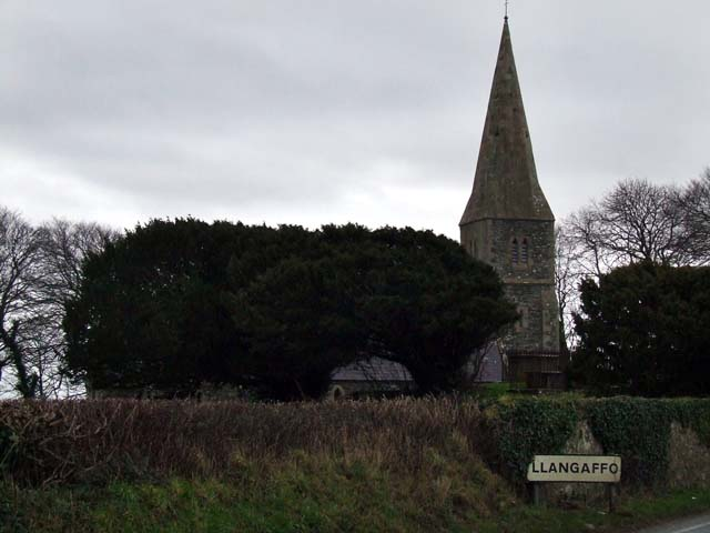 Llangaffo Church