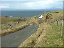 NG2260 : Roadside Cottage at Ardmore by Dave Fergusson
