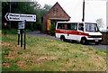 TG0334 : Sharrington Community Bus by Martin Addison