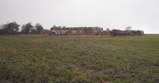 Bales of Hay, Bury Hill