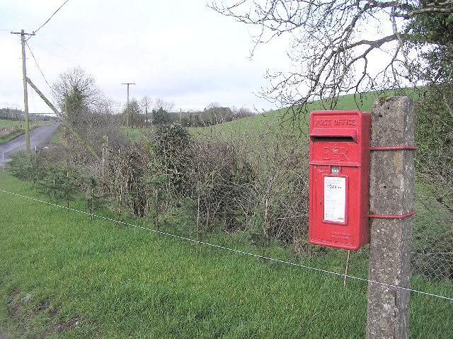 Postbox at Rabony