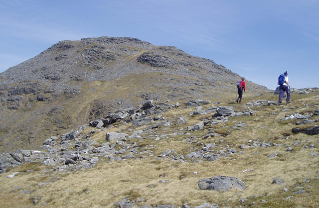 Ben Oss - southwest ridge