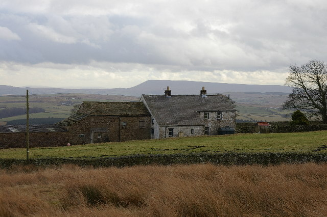 Merrybent Farm.  Forest of Bowland
