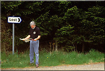 NJ3513 : Lost by Peter Ward