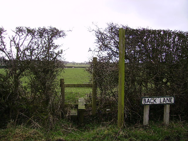 Stile at the centre of Lancashire