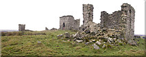 NZ0488 : Rothley Castle by sarah d