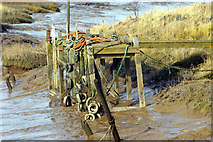 TA0623 : The Old Jetty, Barrow Haven by David Wright