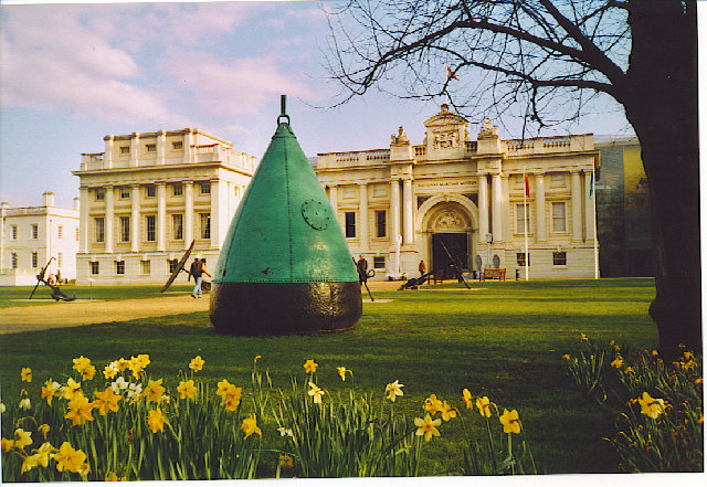 Buoy Aground at Greenwich.