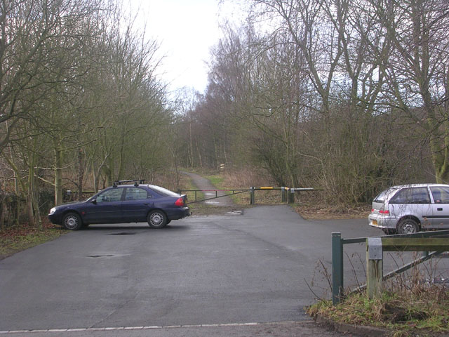 Brancepeth carpark on the Brandon to Bishop Auckland path