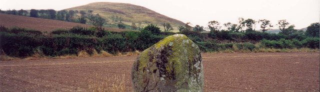 Bendor stone at the Battle of Homildon Hill