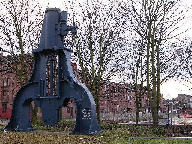 Steam Hammer on Shettleston Road