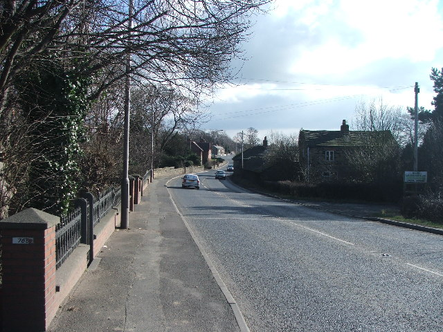 Doncaster Road at Foulby.