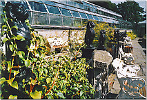 NJ9304 : Winter Gardens, Duthie Park. by Colin Smith