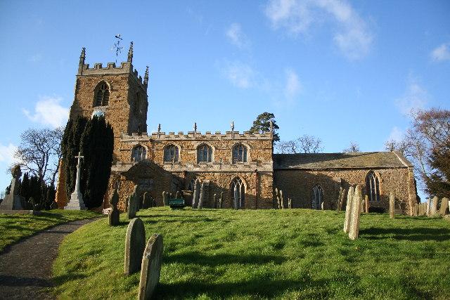 All Saints' church, Tealby, Lincs.