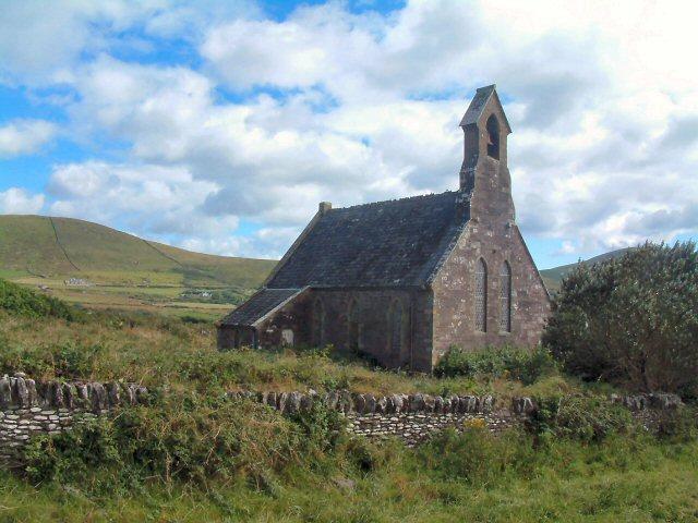 Disused church near An Mhuiríoch