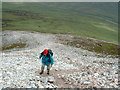 B9320 : The ascent of Errigal, highest mountain in Donegal by Oliver Dixon