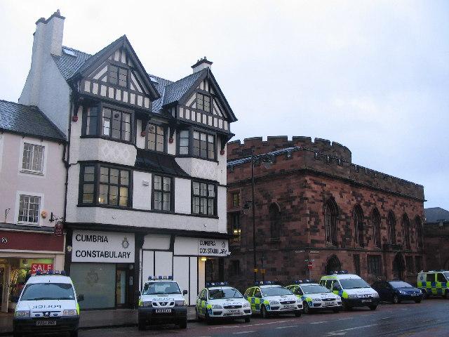 Cumbria Constabulary office, Carlisle