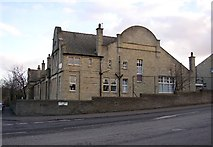 SE1321 : Former Carr Green Council School, Rastrick, Yorkshire by Humphrey Bolton