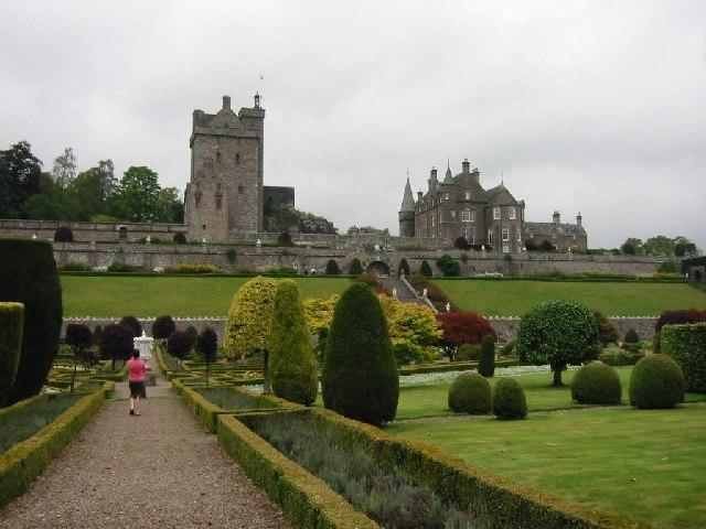 Drummond Castle & Gardens, near Crieff
