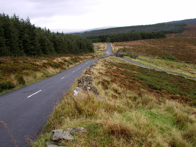 The R759 Road in the Wicklow Mountains