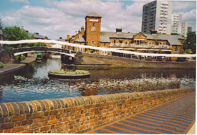 """Canal Junction at """"The Malt House""""."""