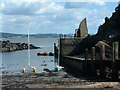 NT1982 : Inchcolm Harbour by Alan Stewart
