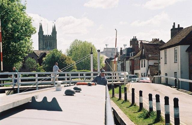 West Mills Swing Bridge, Newbury