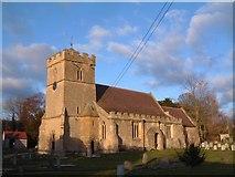 SP0033 : Alderton church by David Exworth