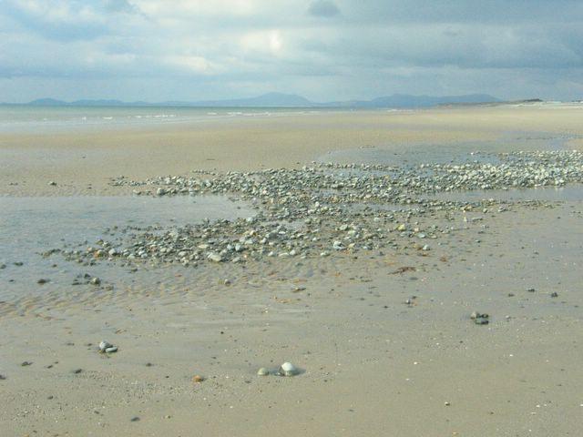 Pebbly bit of beach